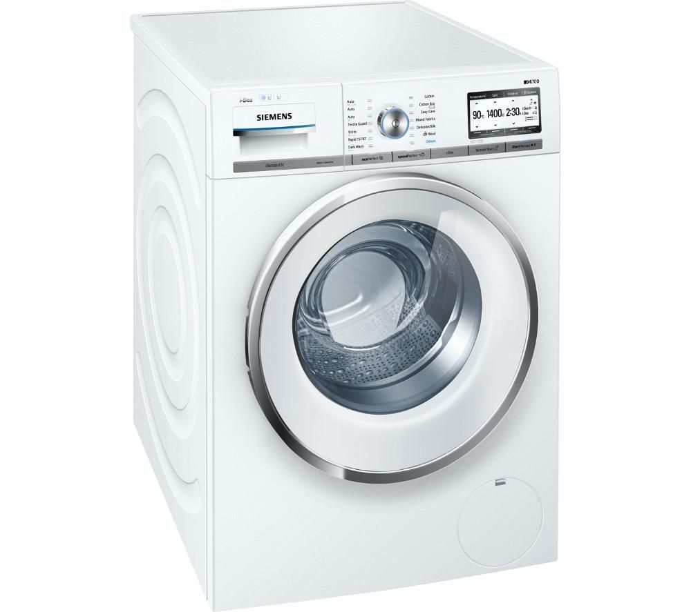 SIEMENS  iQ700 WMH4Y890GB Smart Washing Machine  White White