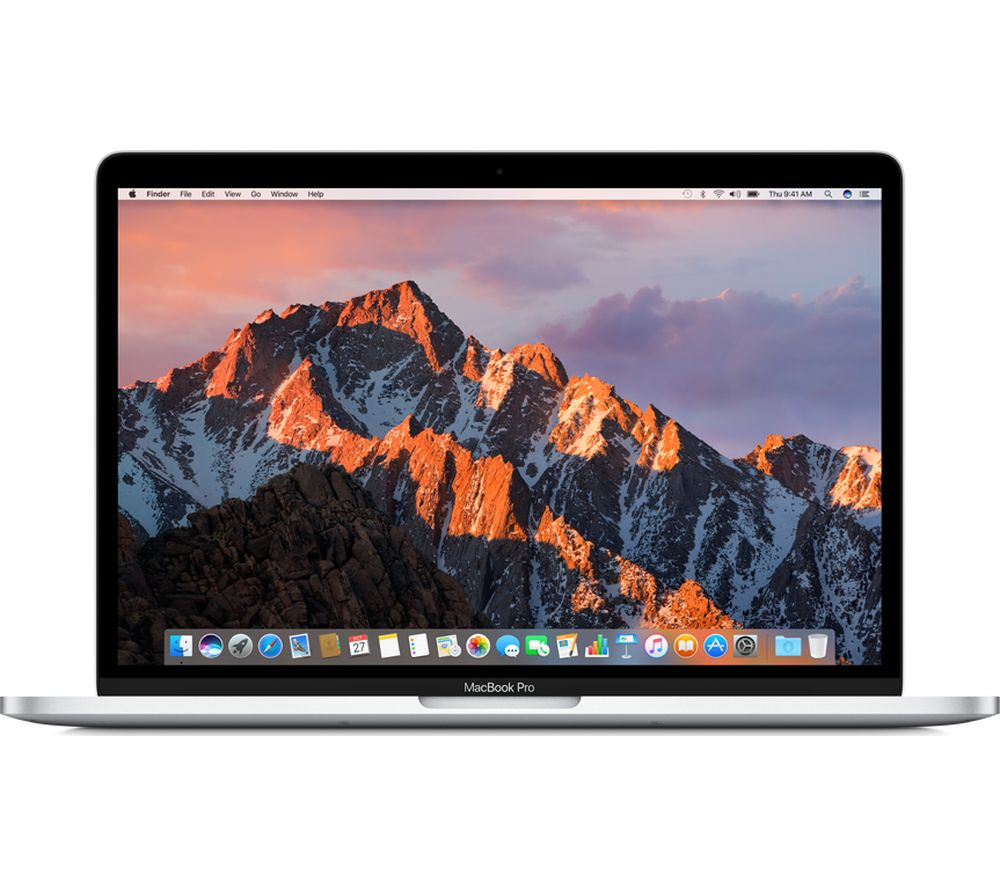 buy apple macbook pro 13 with retina display touch bar silver free delivery currys. Black Bedroom Furniture Sets. Home Design Ideas