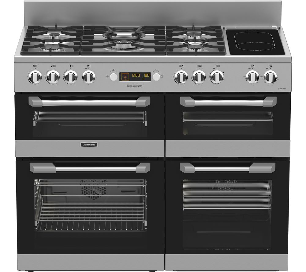 buy leisure cuisinemaster cs110f722x dual fuel range. Black Bedroom Furniture Sets. Home Design Ideas