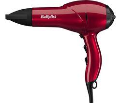 BABYLISS Salon AC Hair Dryer - Red