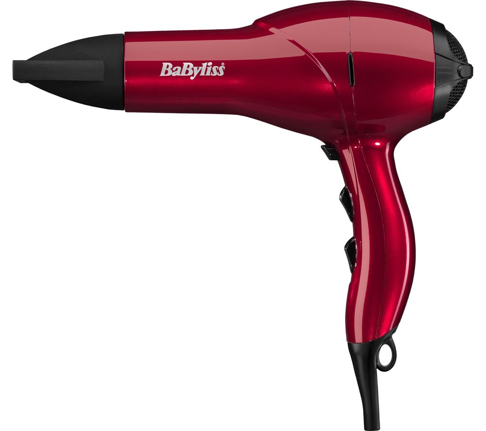 BABYLISS  Salon AC Hair Dryer  Red Red