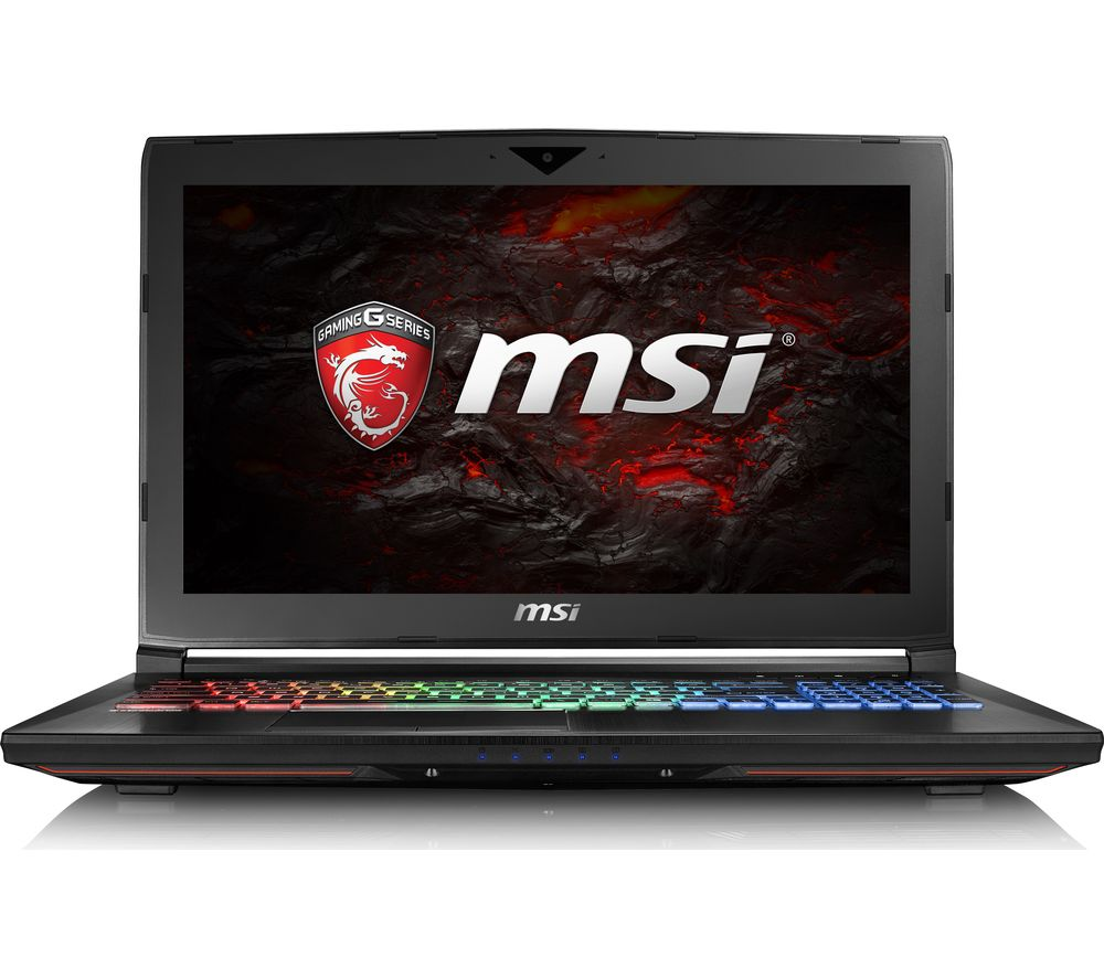 "MSI GT62VR 6RE Dominator Pro 15.6"" Gaming Laptop - Black"
