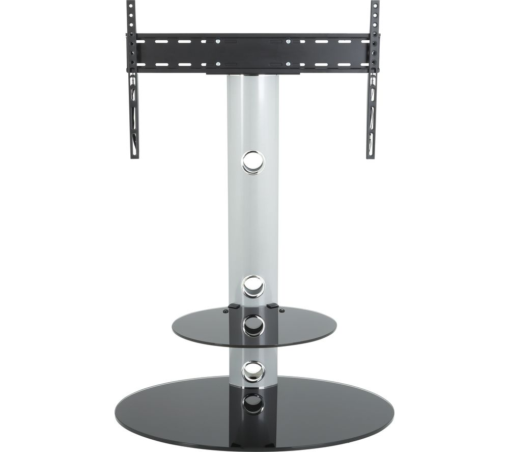 AVF Lugano FSL800LUS TV Stand with Bracket - Silver