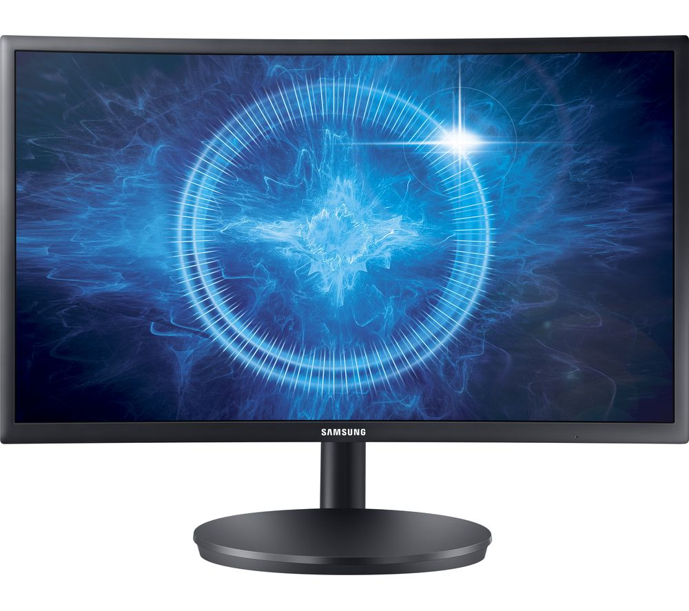 "SAMSUNG C24FG70 Full HD 24"" Curved LED Monitor - Black"