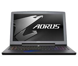 """AORUS X7 V6-CF2 17.3"""" Gaming Laptop - Black"""