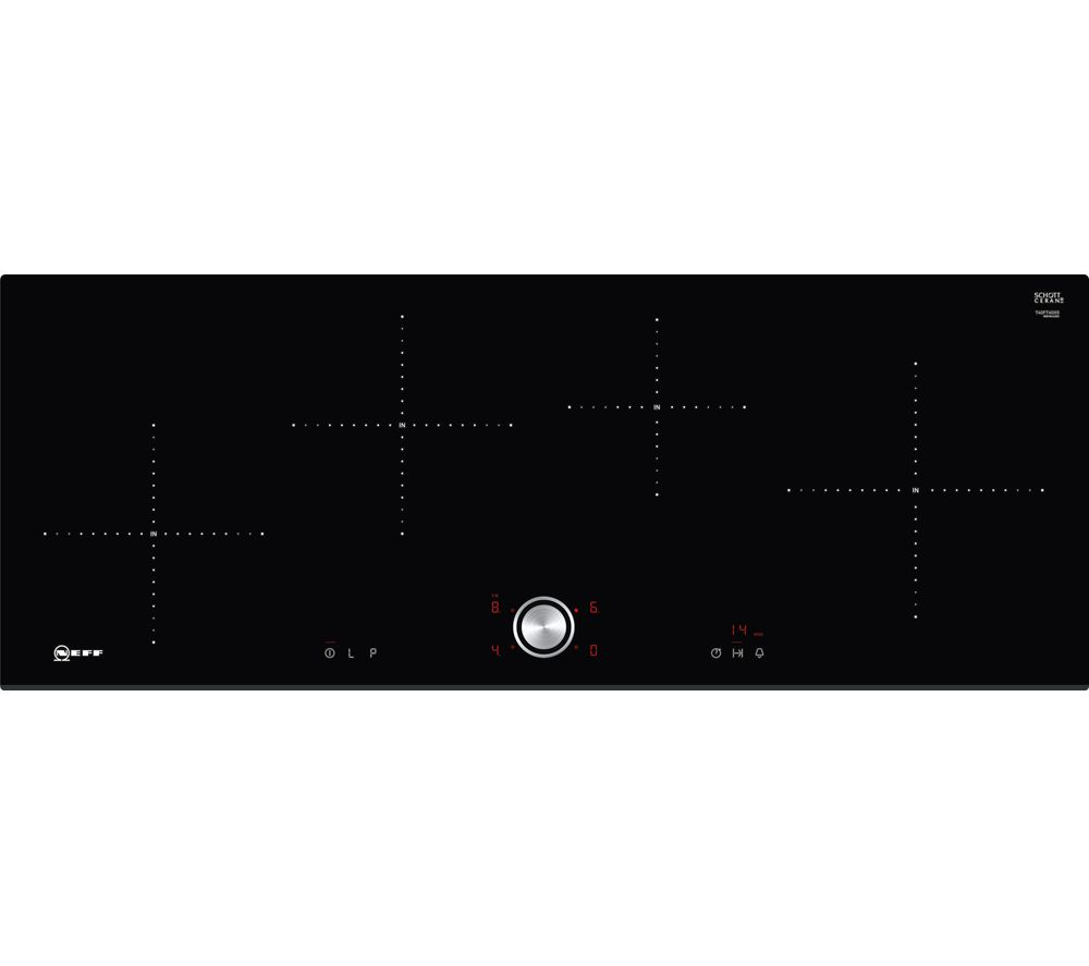 NEFF T40FT40X0 Electric Induction Hob - Black