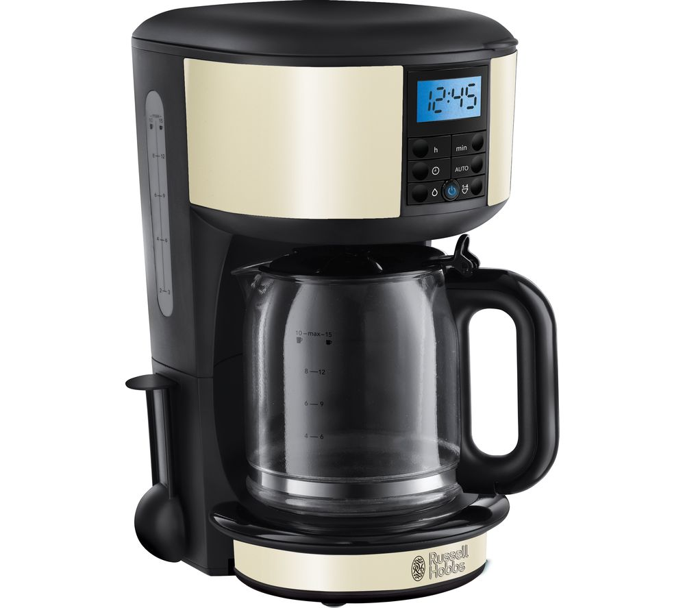 RUSSELL HOBBS Legacy 20683 Fast Brew Filter Coffee Machine - Cream, Cream Coffee Makers