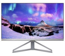 "PHILIPS 245C7QJSB Full HD 23.8"" IPS LED Monitor - Silver & Black"