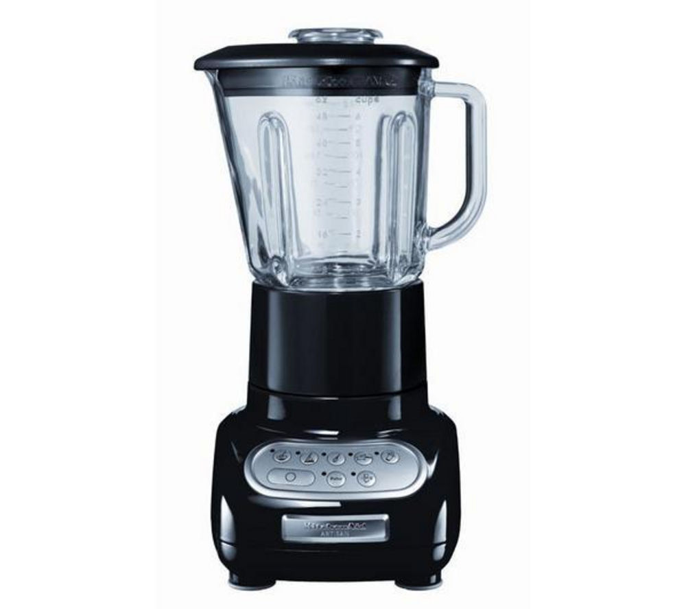 buy kitchenaid artisan blender onyx black free. Black Bedroom Furniture Sets. Home Design Ideas