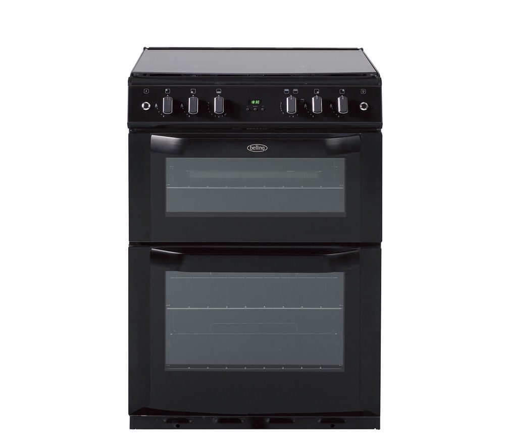 BELLING FSG60DOP Gas Cooker - Black