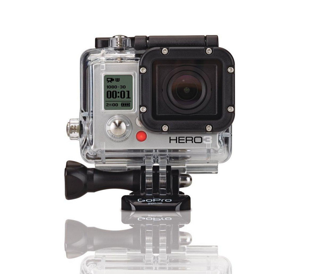 GOPRO Hero 3 Action Camcorder - White Edition