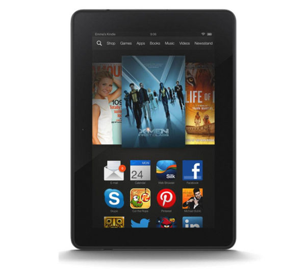 Fire HDX 7&quot Tablet  16 GB