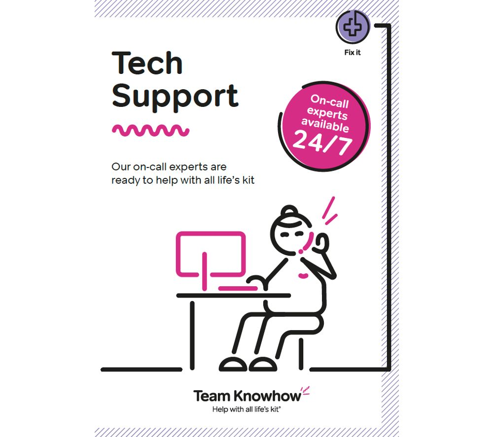 KNOWHOW 24/7 Tech Support Service - 1 year