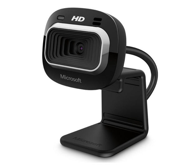 MICROSOFT LifeCam HD-3000, Resolution: 1280 x 720, Noise-cancelling microphone