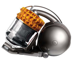 DYSON Cinetic™ DC54 Multi Floor 2015 Cylinder Bagless Vacuum Cleaner - Iron & Yellow