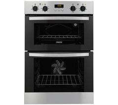 ZANUSSI ZOD35517XA Electric Double Oven - Stainless Steel