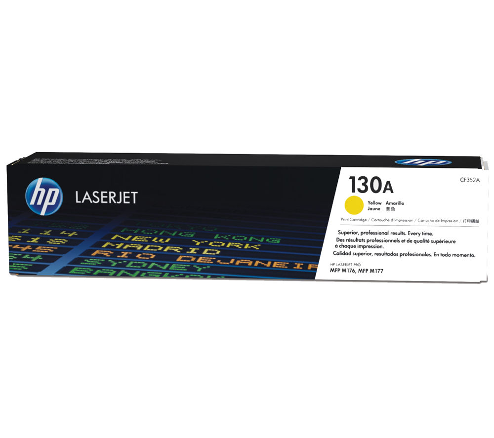 HP 130A Yellow Toner Cartridge