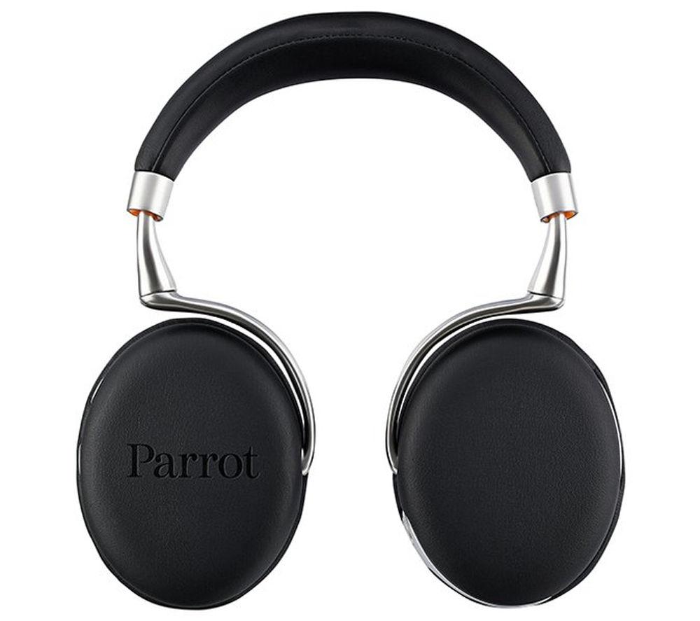 Parrot Zik 2.0 Wireless Bluetooth Noise-Cancelling Headphones - Black, Black