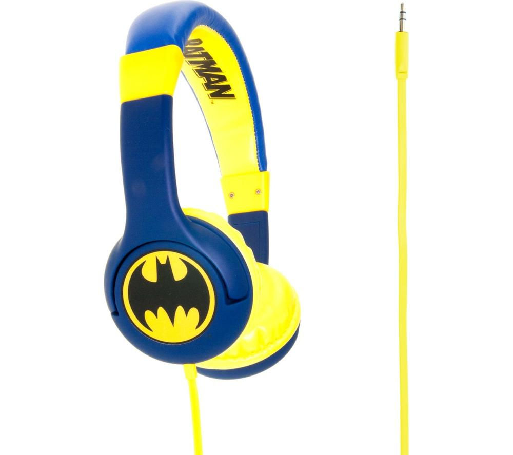Click to view more of BATMAN  Kids Headphones - Blue, Blue