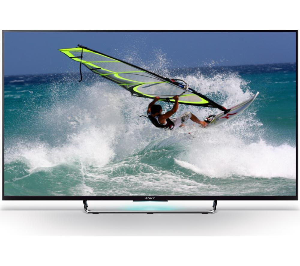 "55"" Sony BRAVIA 55W809CBU Smart 3D  LED TV"