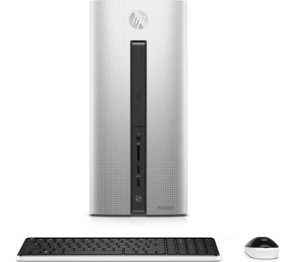 HP Pavilion 550150na Desktop PC  Silver Silver