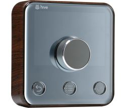 HIVE Active Thermostat Frame Cover - Wood Effect