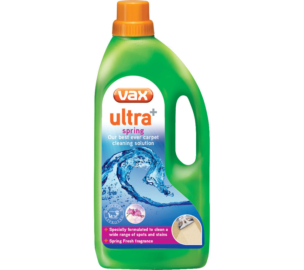 VAX Ultra + Spring Carpet Cleaning Solution