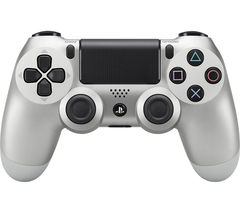 SONY DualShock 4 Wireless Controller - Silver
