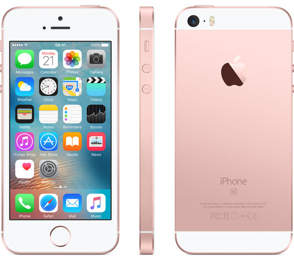 Apple Iphone Se Rosegold Gb