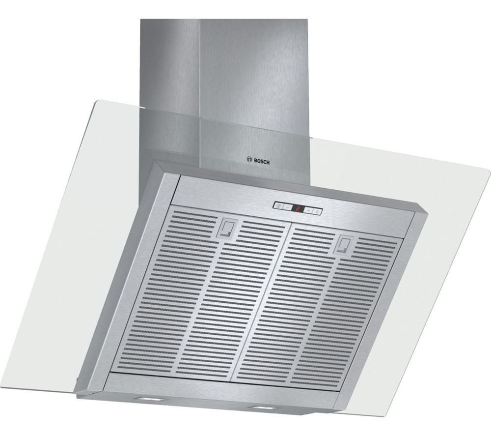 BOSCH DWK098E51B Chimney Cooker Hood - Stainless Steel