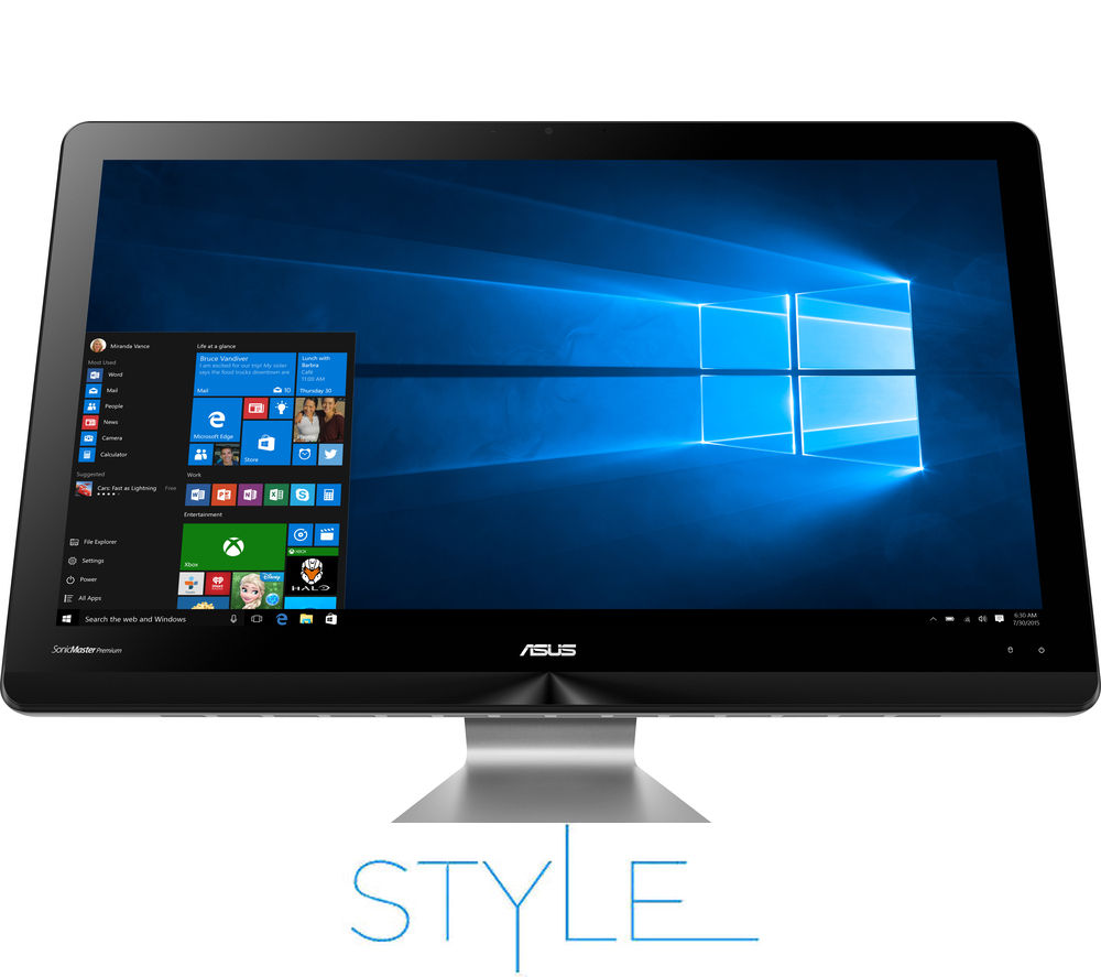 "ASUS ZEN AiO 23.8"" Touchscreen All-in-One PC"