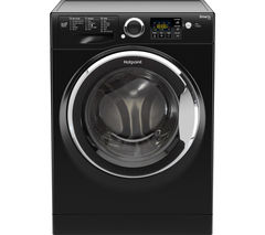 HOTPOINT Smart+ RSG964JKX Washing Machine - Black