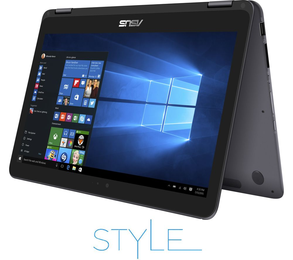 "ASUS ZenBook Flip UX360CA 13.3"" 2 in 1 - Grey + Office 365 Personal"