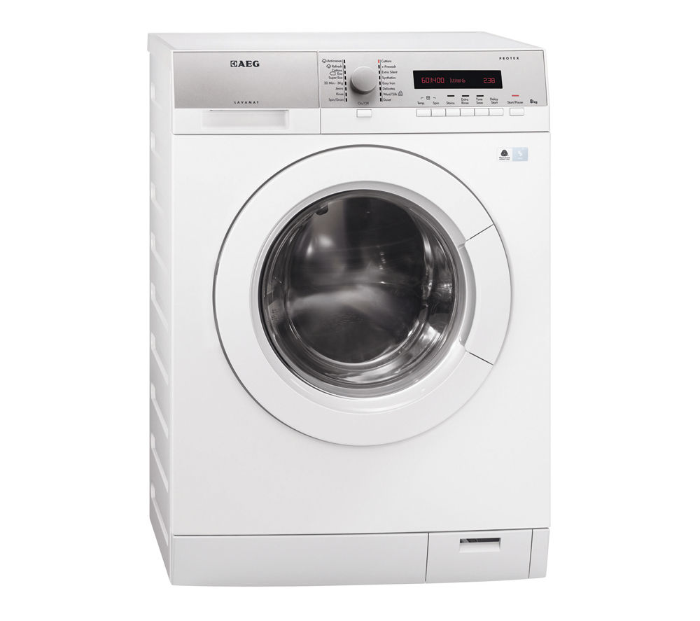 AEG  LW74486FL Washing Machine - White, White