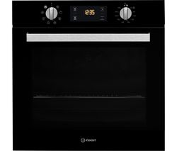 INDESIT IFW 6340 BL Electric Oven - Black