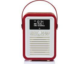 VQ Retro Mini -MINI-RD Portable Bluetooth DAB+/FM Radio - Red