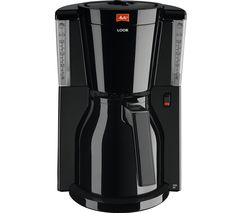 MELITTA Look IV Therm Filter Coffee Machine - Black