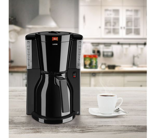 Coffee Maker At Currys : Buy MELITTA Look IV Therm Filter Coffee Machine - Black Free Delivery Currys
