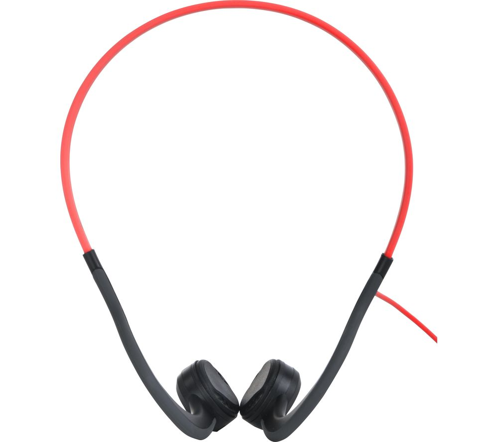 AFTERSHOKZ Sportz Titanium Noise-Cancelling Headphones - Red