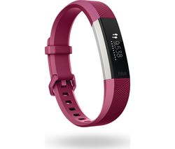FITBIT Alta HR - Fuschia, Small