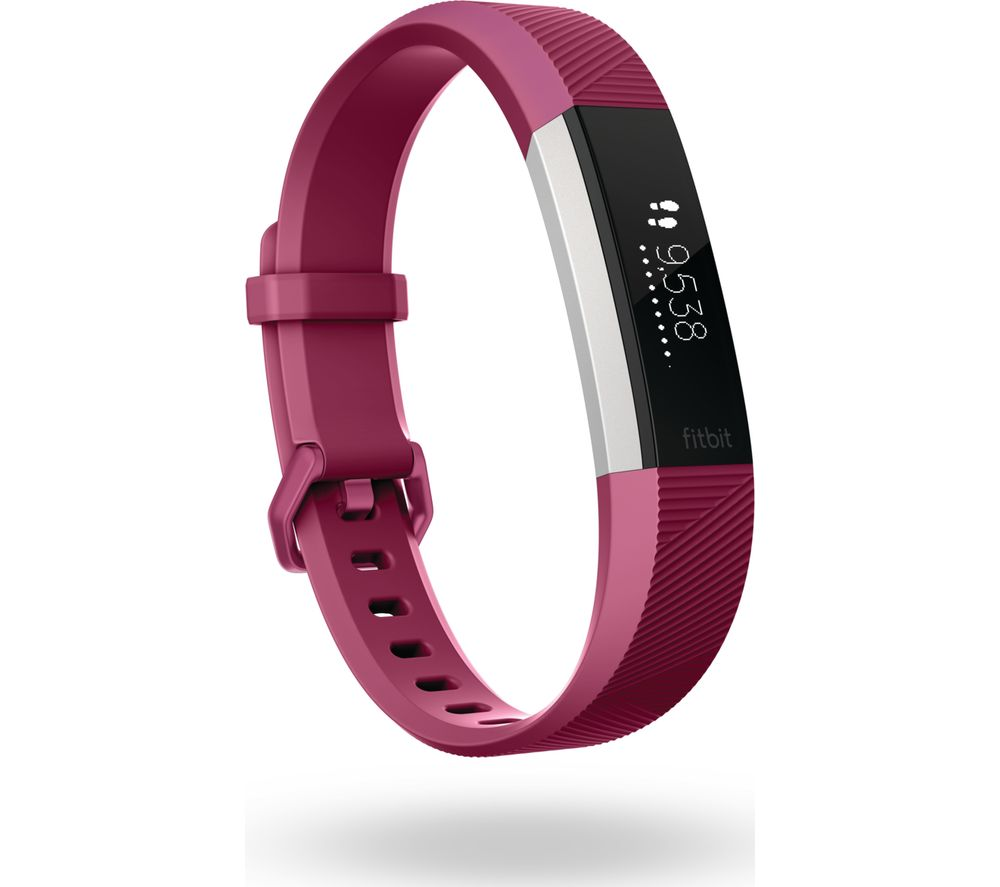 Buy FITBIT Alta HR - Fuchsia, Small : Free Delivery : Currys