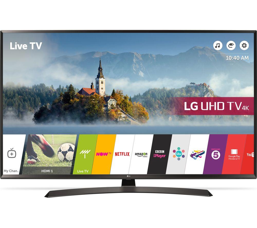 "Image of 65"" LG 65UJ634V Smart 4K Ultra HD HDR LED TV"