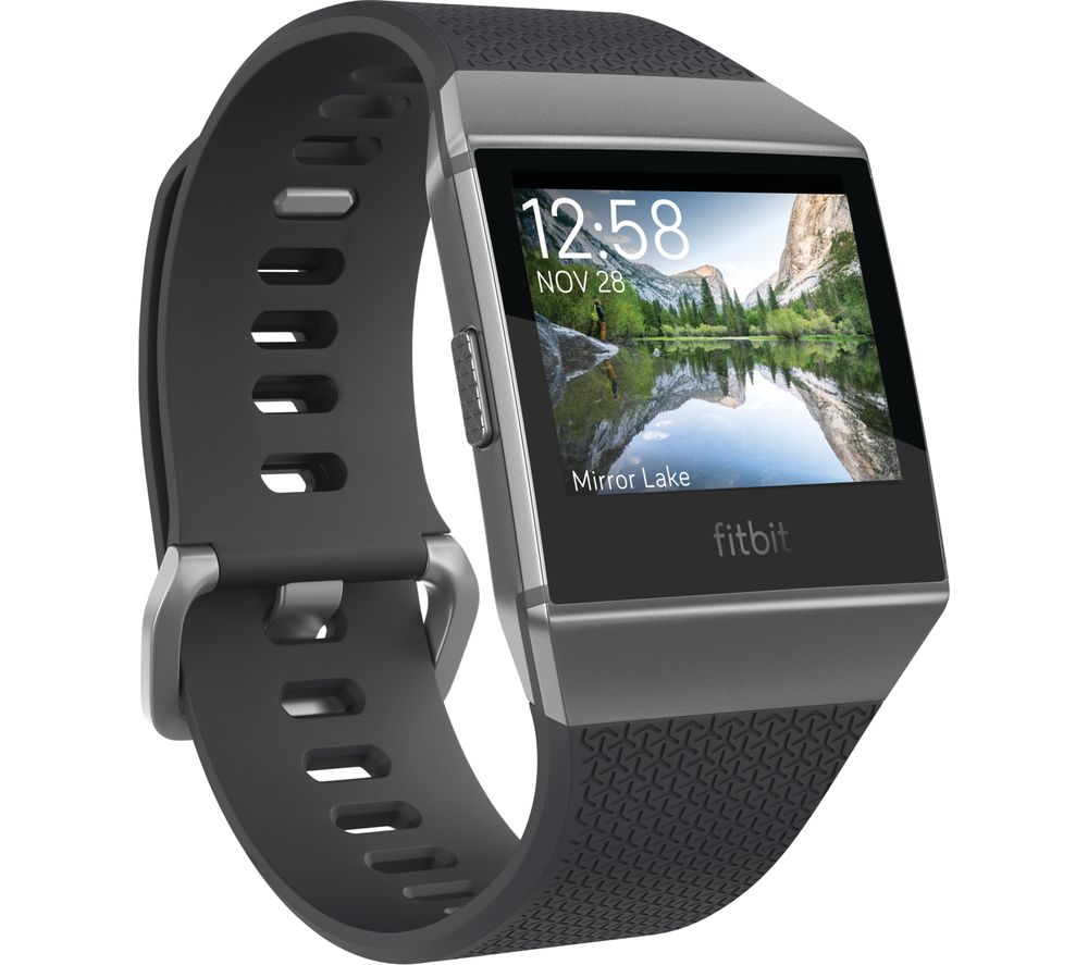 FITBIT Ionic - Charcoal & Smoke Grey