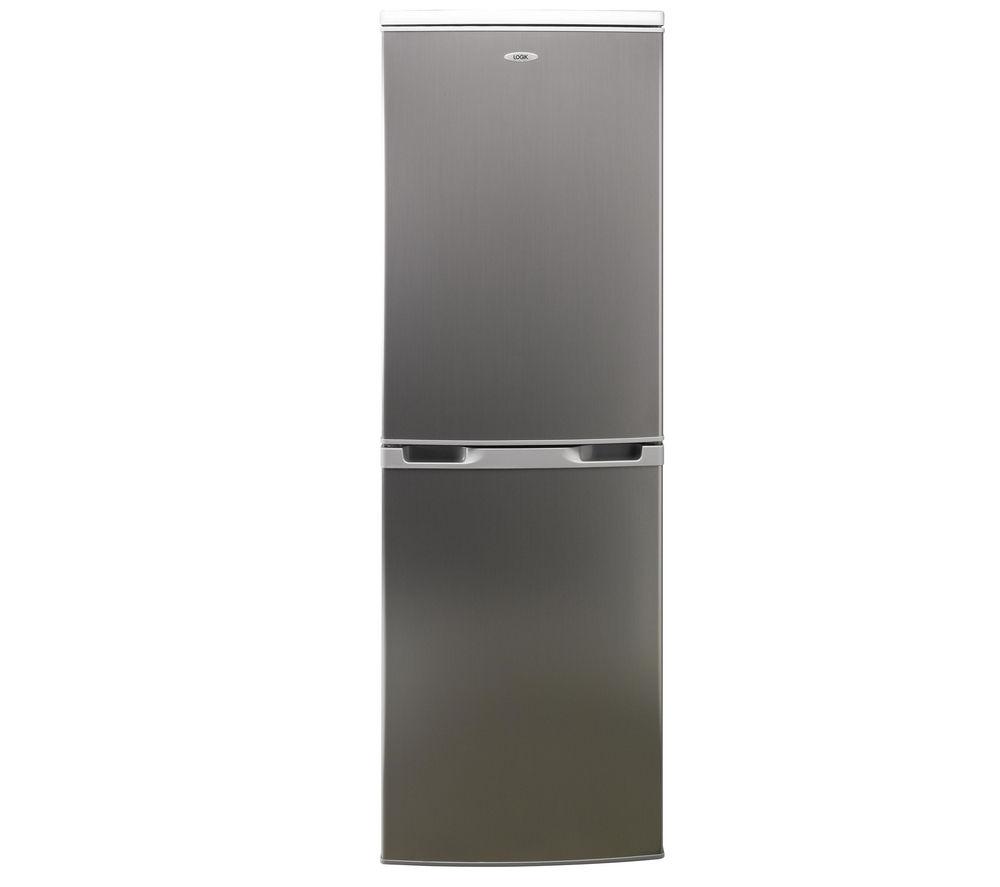 LOGIK LFC50S12 Fridge Freezer – Silver
