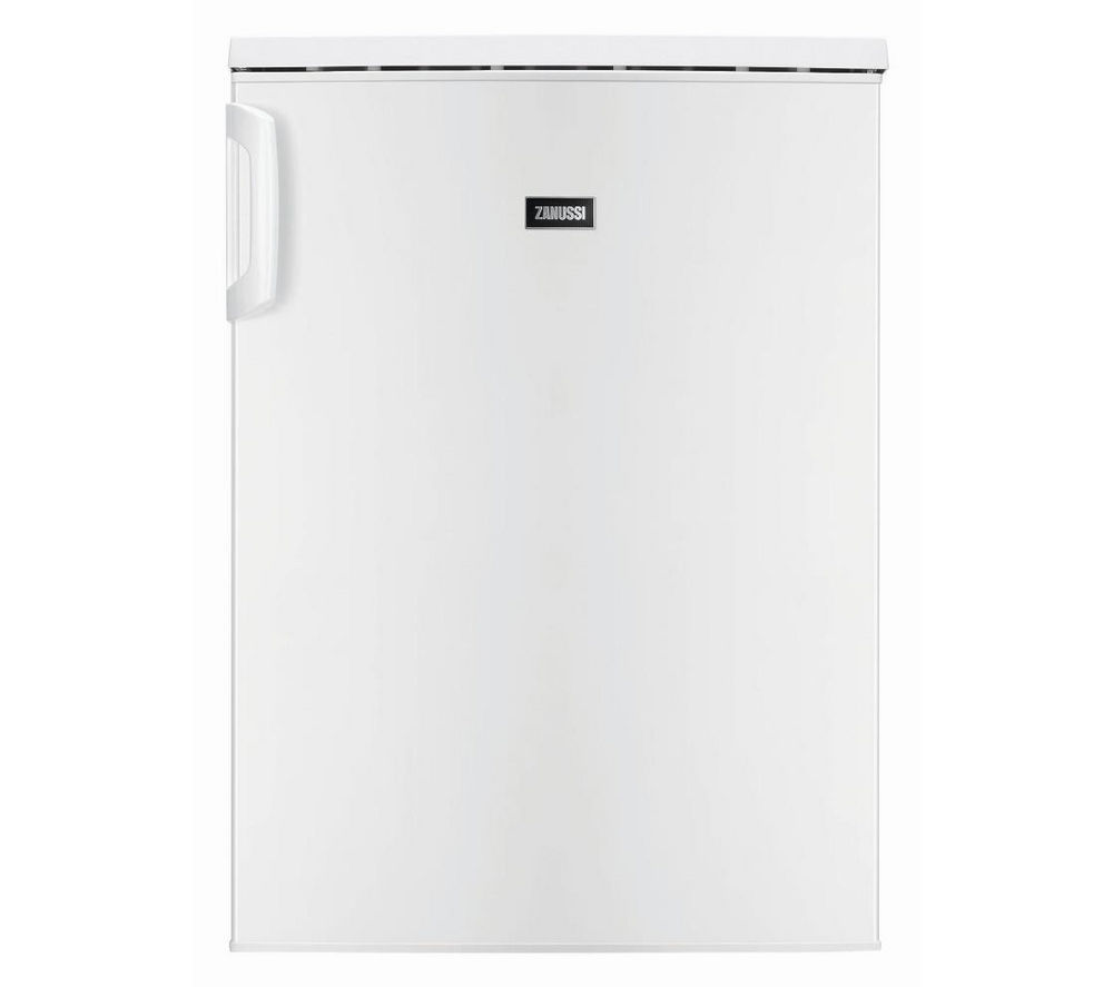 ZANUSSI ZRG16601WA Undercounter Fridge - White + ZDH8333W Heat Pump Tumble Dryer - White