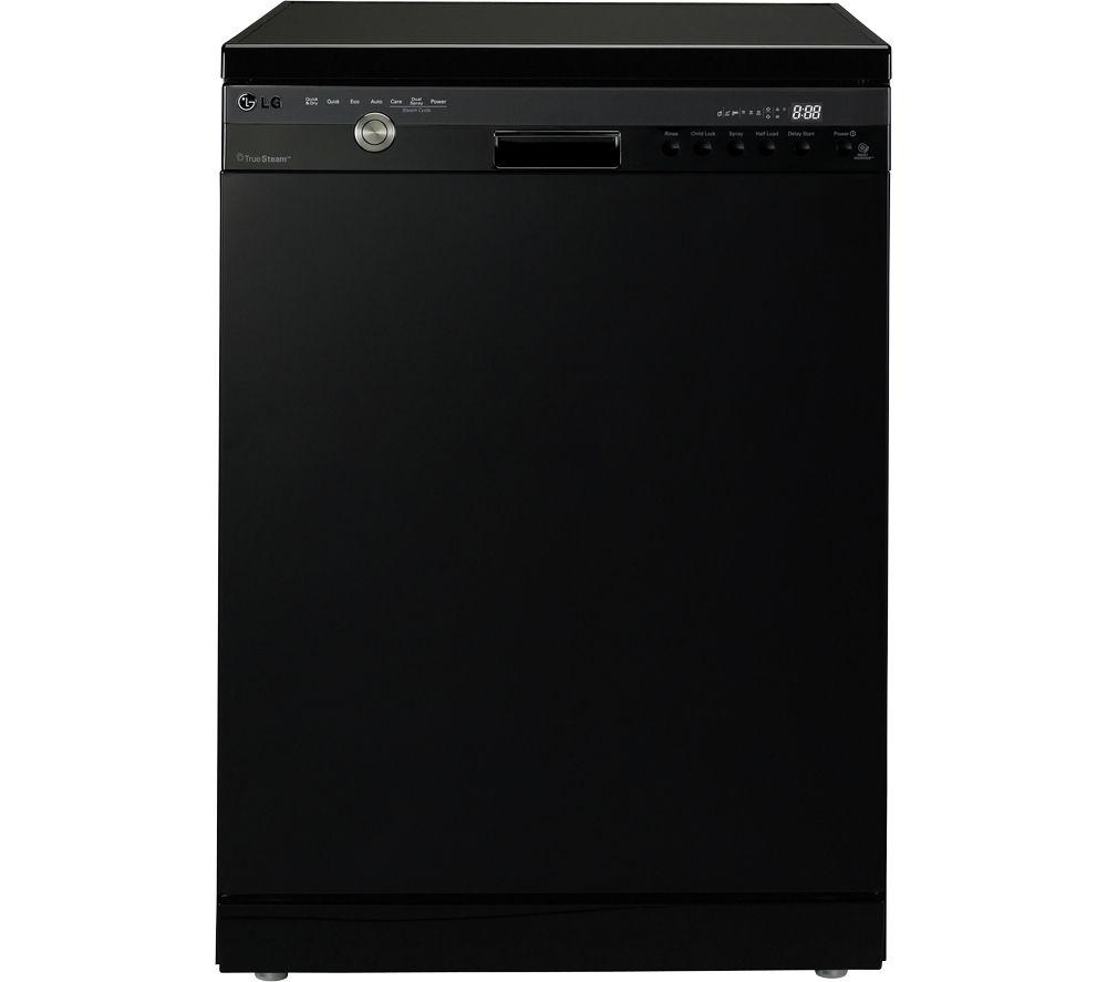 LG D1484BF TrueSteam Full-size Dishwasher - Black