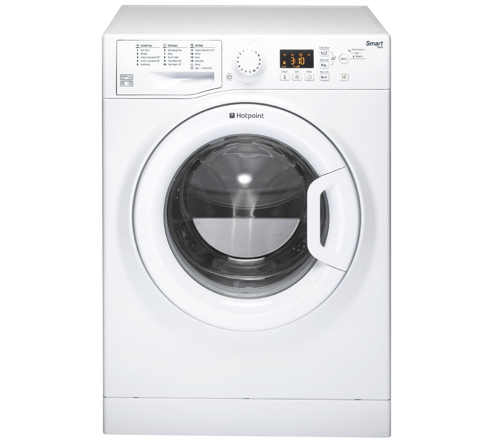 buy hotpoint wmfug742p smart washing machine white free delivery currys. Black Bedroom Furniture Sets. Home Design Ideas