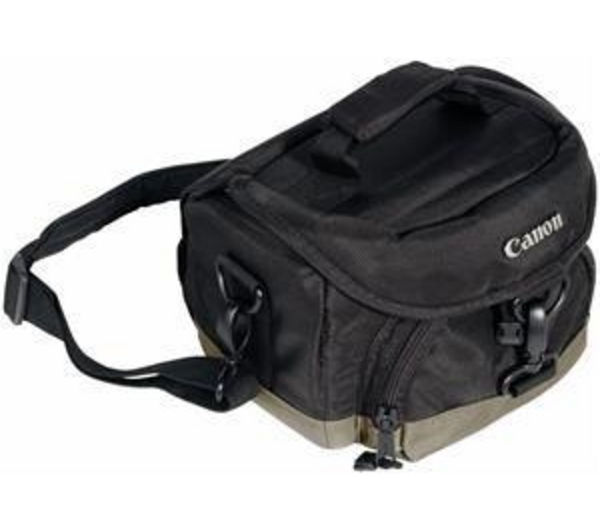Buy CANON 100EG Deluxe Gadget DSLR Camera Bag - Black - Free Delivery ...