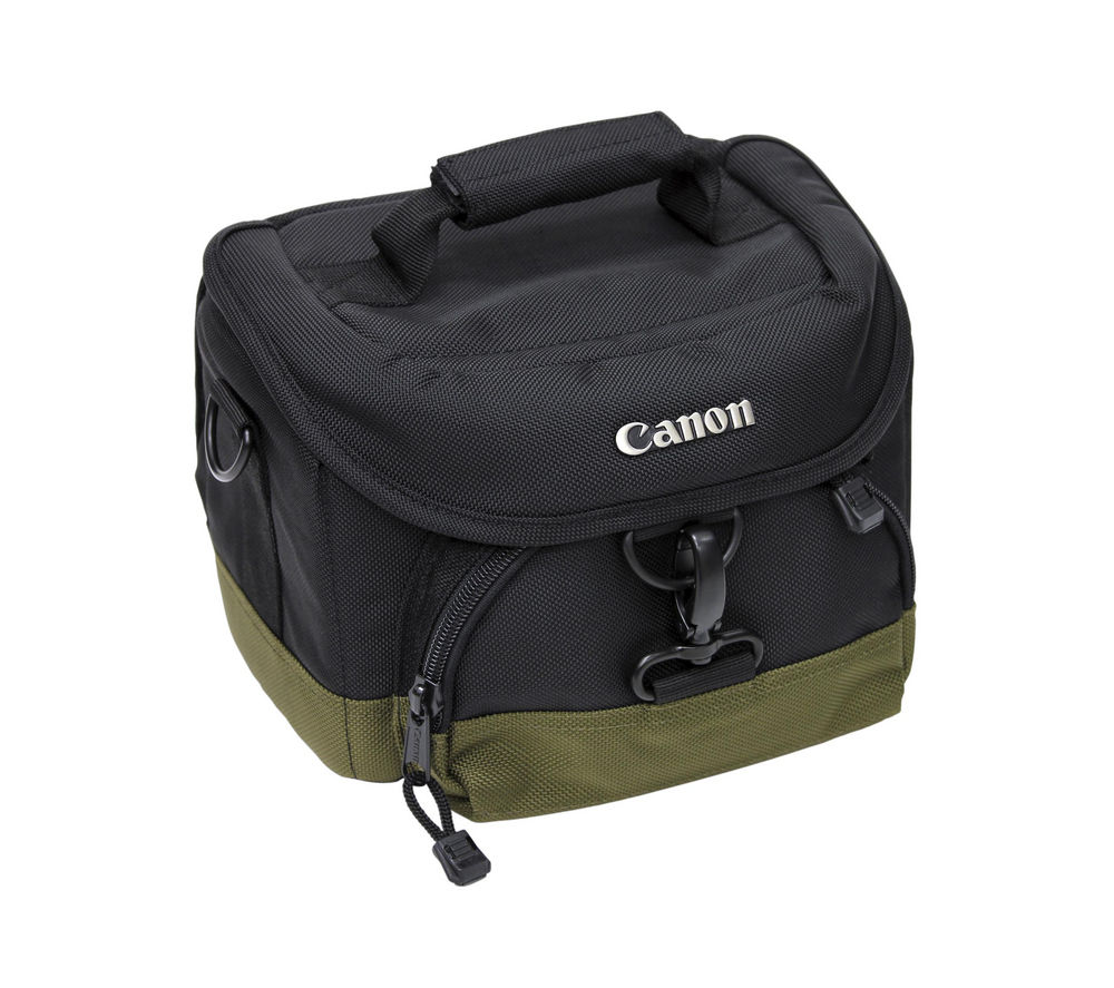 CANON 100EG Deluxe Gadget DSLR Camera Bag - Black