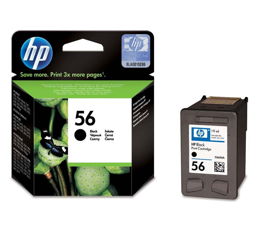 HP 56 Black Ink Cartridge